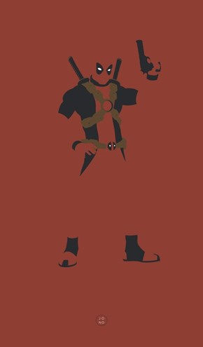 Minimalistic Deadpool
