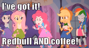 I've got it!   Redbull AND coffee!