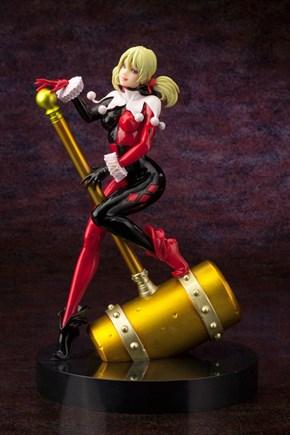 Kotobukiya Unveils SDCC 2013 Exclusive Harley Quinn Bishoujo Statue