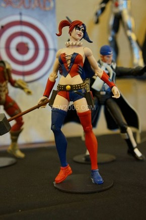 SDCC 2013 DC Collectables: Injustice League Harley Quinn