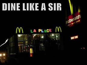 DINE LIKE A SIR