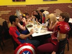 Avengers Shawarmassemble