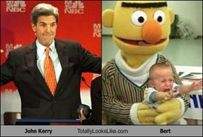 John Kerry Totally Looks Like Bert