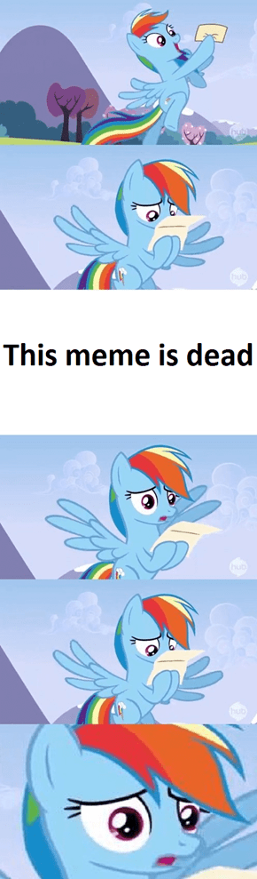 Another meme is died out