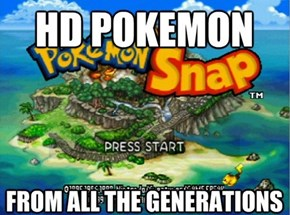 The Pokemon Game Everyone Actually Wants