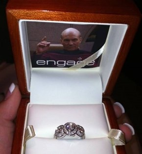 Nothing Says Romance like Jean-Luc Picard