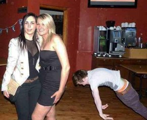 Photobomb Level: Drunken Master