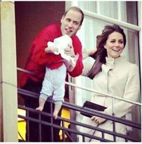 Announcing the Birth of Prince Blanket