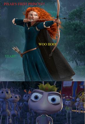 Pixar's first princess