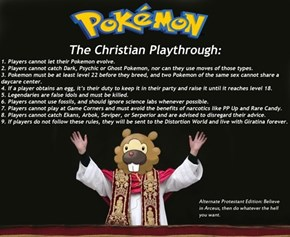 Pokemon: The Christian Playthrough