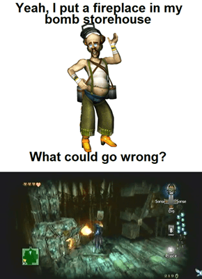 Link Could Blow It Up