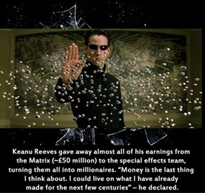 Good Guy Keanu: He Really is The One
