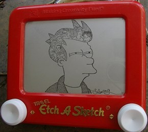 I'm Not Sure About This Etch A Sketch...