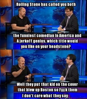 Touche of the Day: What Louis C.K. Thinks About Rolling Stone's Remarks About Him