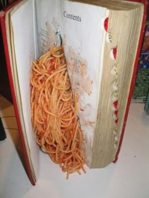 Oh, That's Where I Put My Spaghetti