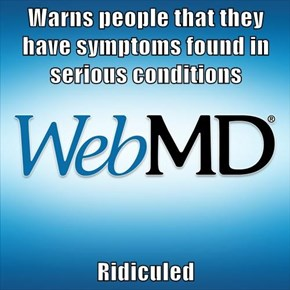 Misunderstood WebMD