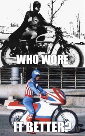 Batman vs Captain America: Who Wore It Better?