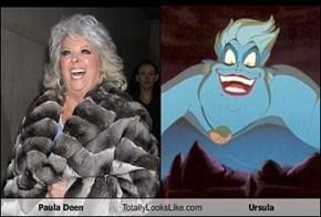 Paula Deen Totally Looks Like Ursula