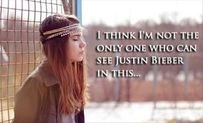 Justin Bieber Really is a Girl!