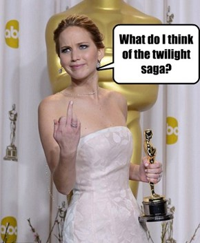 What do I think of the twilight saga?