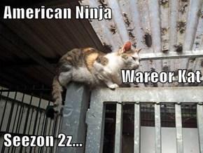 American Ninja Wareor Kat Seezon 2z...