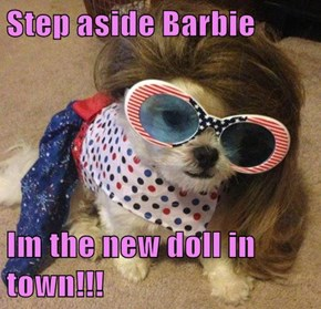 Step aside Barbie  Im the new doll in town!!!
