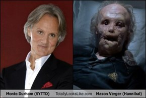 Monte Durham (SYTTD)  Totally Looks Like Mason Verger (Hannibal)