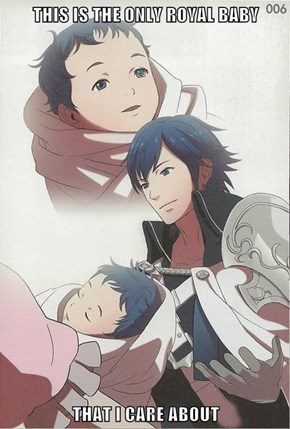 Baby Lucina Beats Baby George Anyday