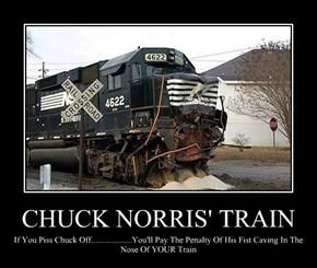CHUCK NORRIS' TRAIN
