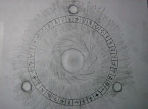 Whizards Arcanium circle.