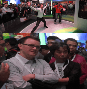 Miyamoto's first reaction to the Kinect