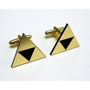 Zelda Tri-Force Cuff Links