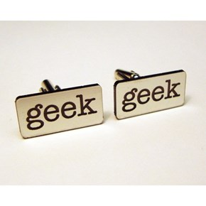 Geek Cuff Links