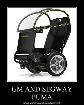 GM AND SEGWAY PUMA