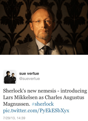 Sherlock Gets a New Villain