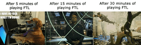 Me playing FTL