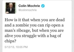 Colin Asks the Tough Questions