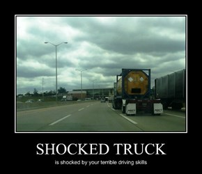 SHOCKED TRUCK