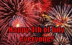 Happy 4th of July everyone!