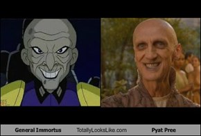 General Immortus Totally Looks Like Pyat Pree