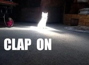 CLAP  ON