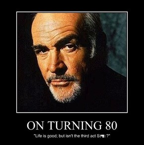 ON TURNING 80