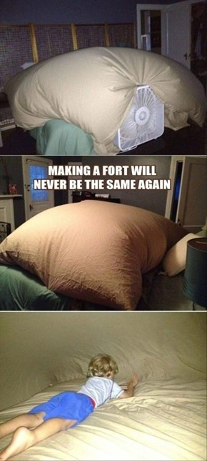 Fort Building: Summer Edition