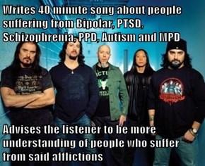 Good guy Dream Theater