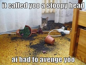 it called yoo a stoopy head  ai had to avenge yoo