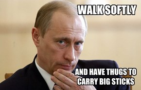 Advice from Putin on the Hits