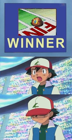 Sorry Ash,you never win a league.
