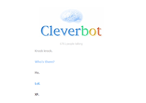 Realist Cleverbot Trolling