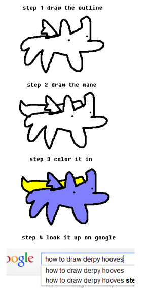 How to draw Derpy Hooves.