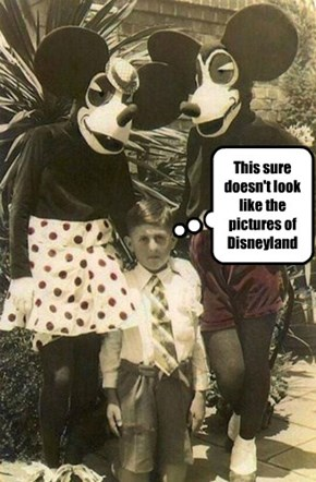Timmy Suspects This Was NOT Disneyland